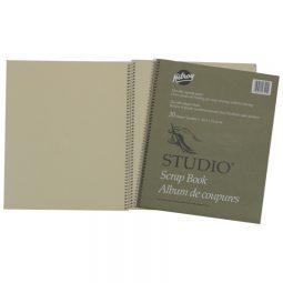 """Hilroy Studio Scrap Book 12"""" X 10"""" 30 Sheets"""