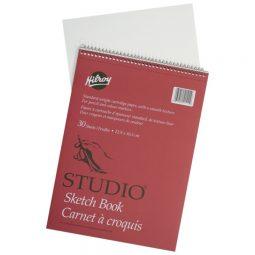 "Hilroy Studio Sketch Book 9"" X 12"" 30 Sheets"