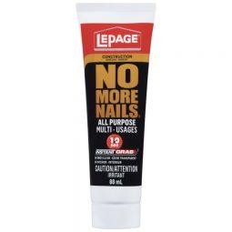 Lepage No More Nails All Purpose Construction Adhesive 88ml