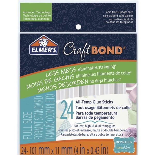 Elmer'® Craft Bond® All-Temp Precision Glue Sticks