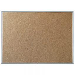 "Quartet Economy Cork Board Aluminum Frame 48"" x 96"""