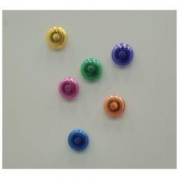 """VLB Filemode Translucent Magnets 1-1/8"""""""