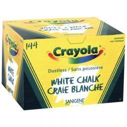 Crayola Dustless White Chalk