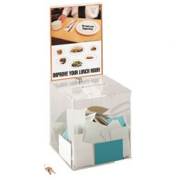 Safco Collection Box With Lock