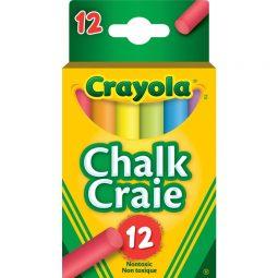 Crayola Dustless Chalk Assorted