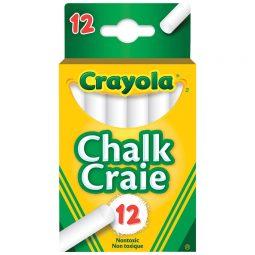 Crayola Dustless Chalk White