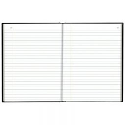 """Blueline A796 Account Book 10-1/4"""" X 7-11/16"""" Record 200 Pages"""