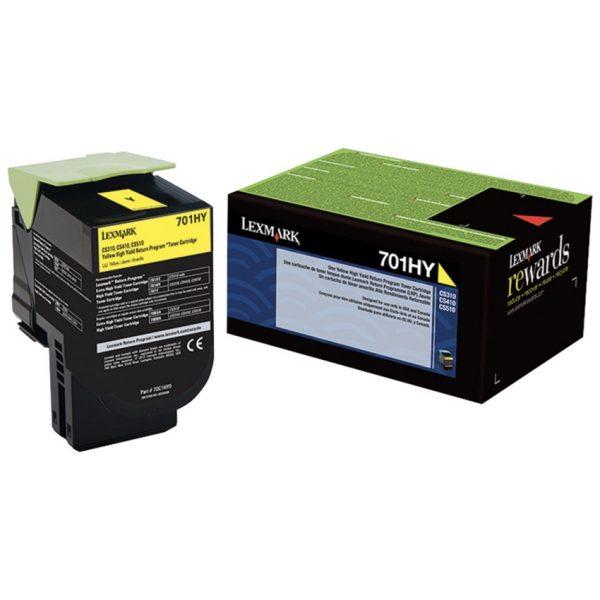 Lexmark Laser Cartridge 701HY