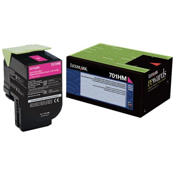 Lexmark Laser Cartridge 701HM