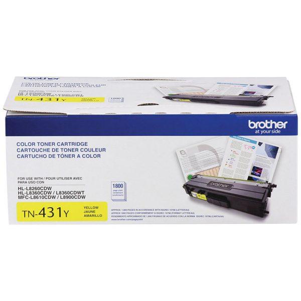 Brother Laser Toner Cartridge TN-431