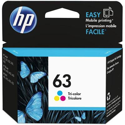HP Inkjet Cartridge 63