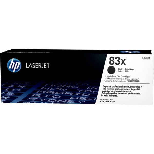 HP Laser Cartridge 83X