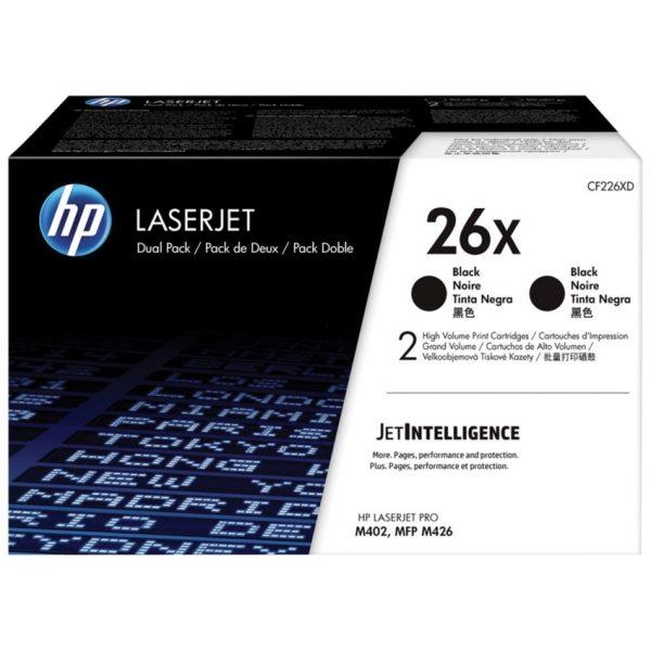 HP Laser Cartridges 26X