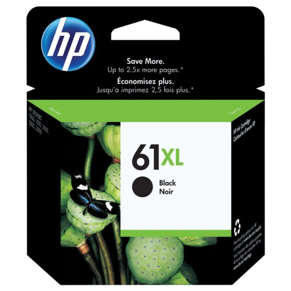 HP Inkjet Cartridge 61XL