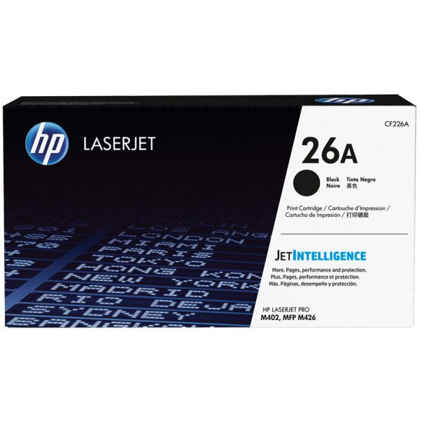 HP Laser Cartridge 26A 3.1K Pages