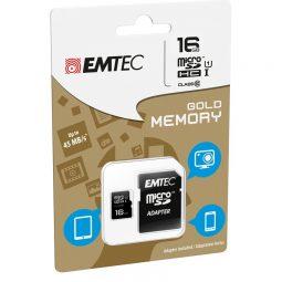 Emtec™ Micro SDHC Memory Card 16 GB