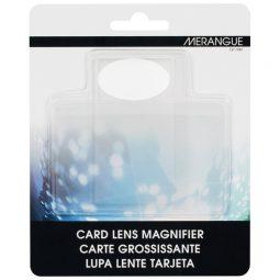 """Merangue Sheet Magnifier 2"""" X 3-1/2"""" Card Size"""