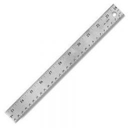 24' Stainless Steel Ruler