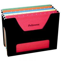 Desktop Hanging Folder Rack Letter Black