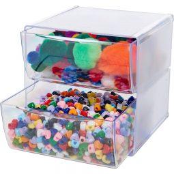 Deflecto® Stackable Cube Organizers