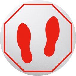 Deflecto® StandSafe™ Personal Spacing Discs