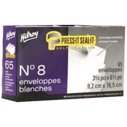 """Hilroy Press-It Seal-It Envelopes (#8) 3-5/8 x 6-1/2"""""""