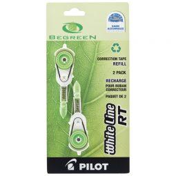 Pilot Begreen White Line RT Correction Tape Refills