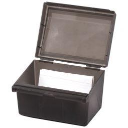 """Korr File Box 500-Card Capacity 6"""" X 4"""""""