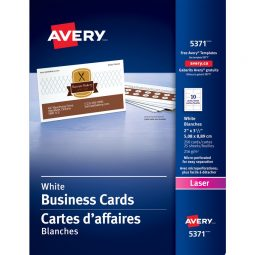 Avery Business Cards Laser