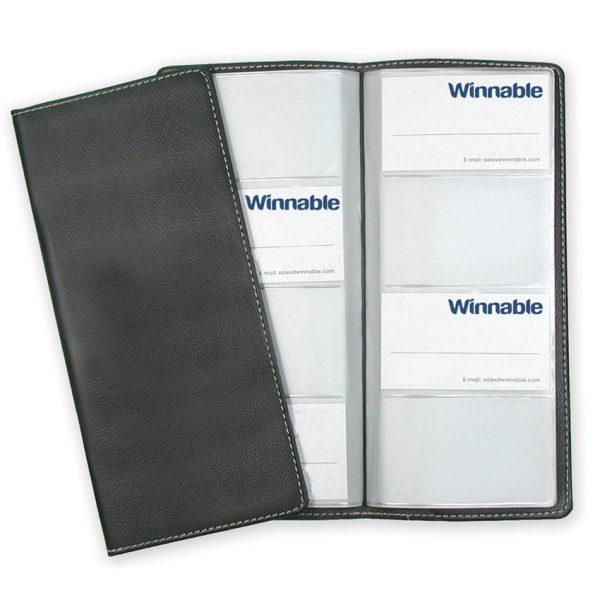 """Winnable Business Card Holder 96 Card Capacity 9-3/4"""" X 4-1/2"""""""