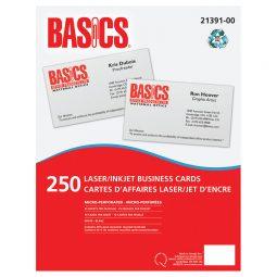 Basics Business Cards Laser/Inkjet