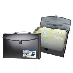 Winnable Portable File 12 Pocket With Tab Inserts Letter/Legal