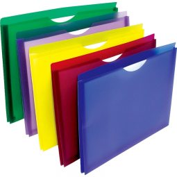 Winnable Expanding Poly File Jackets