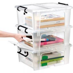 20L Supply and File Storage Box.