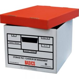 Basics® Quick Set-up Storage Boxes