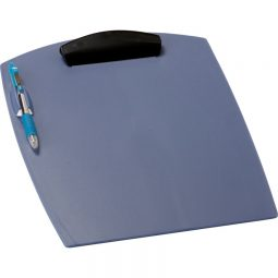Storex Poly Clipboard letter Blue