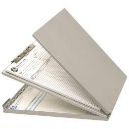 Westcott Aluminum Bottom-Hinged Sheet Holder Letter