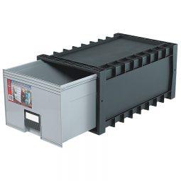 Storex Plastic Storage Box Drawer Style Letter/Legal