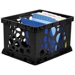 Storex File Crate Letter/Legal