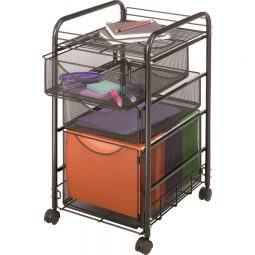Safco Filing Cart With Trays