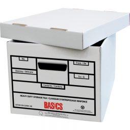 Basics® Quick Set-up Heavy Duty Storage Boxes