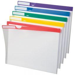 "Pendaflex Poly Index Folders 8-1/2"" X 11"" Assorted"