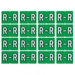 Pendaflex Labels R Light Green