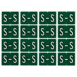 Pendaflex Labels S Dark Green