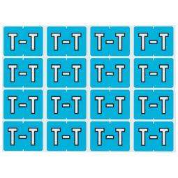 Pendaflex Labels T Light Blue