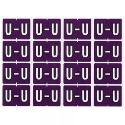 Pendaflex Labels U Violet