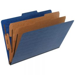Pendaflex Pressguard Coloured Classification Folders 2-Partitions
