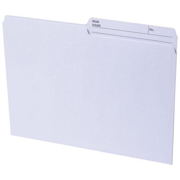 Basics Reversible File Folders Letter
