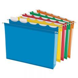 "Pendaflex Ready Tab Hanging Folder 2"" Capacity Assorted Letter"