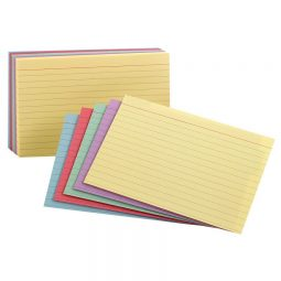 """Index Cards 3"""" x 5"""" Ruled"""